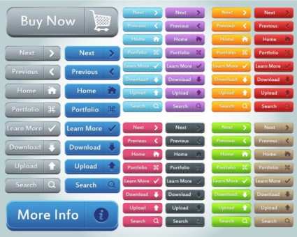 CSS Buttons - Download Cascading Buttons CSS