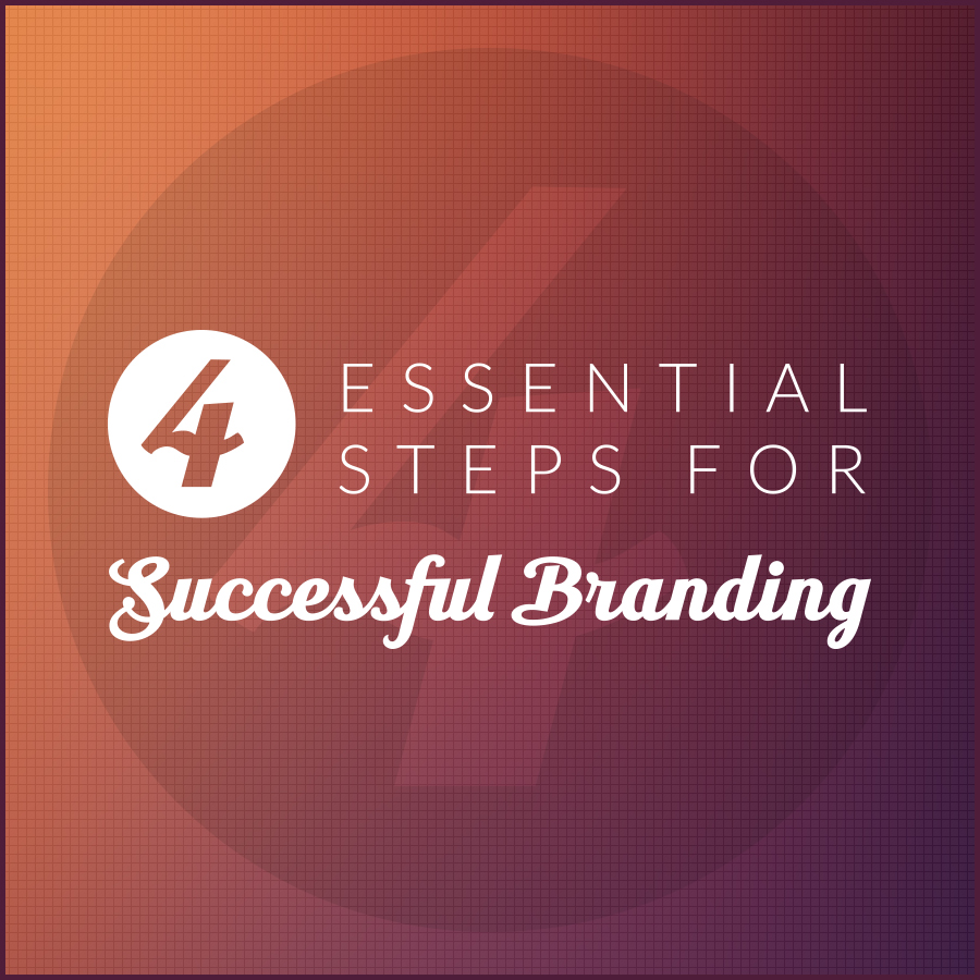 4 Essential Steps for Successful Branding