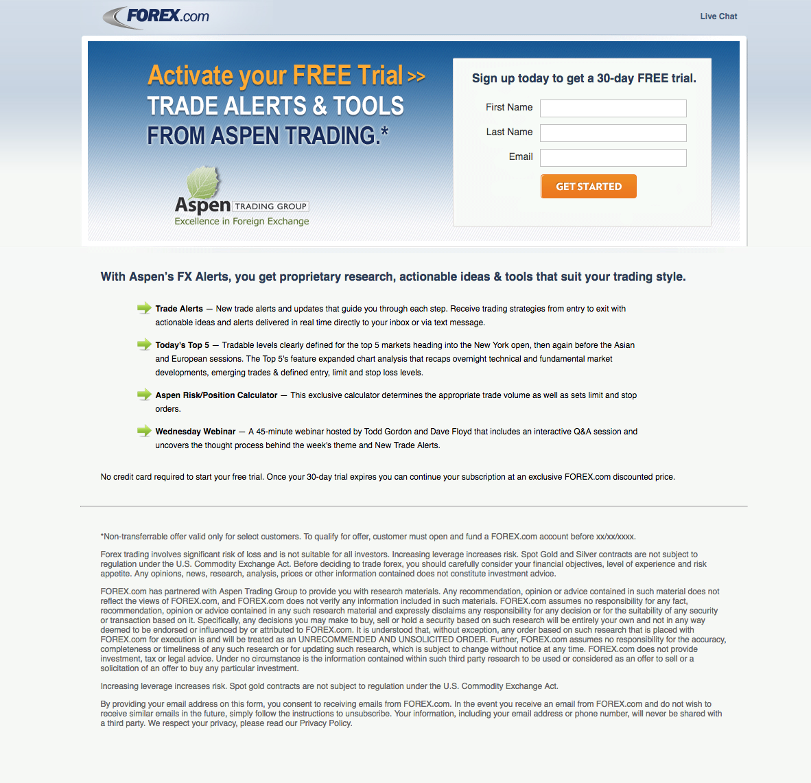Forex email advertising