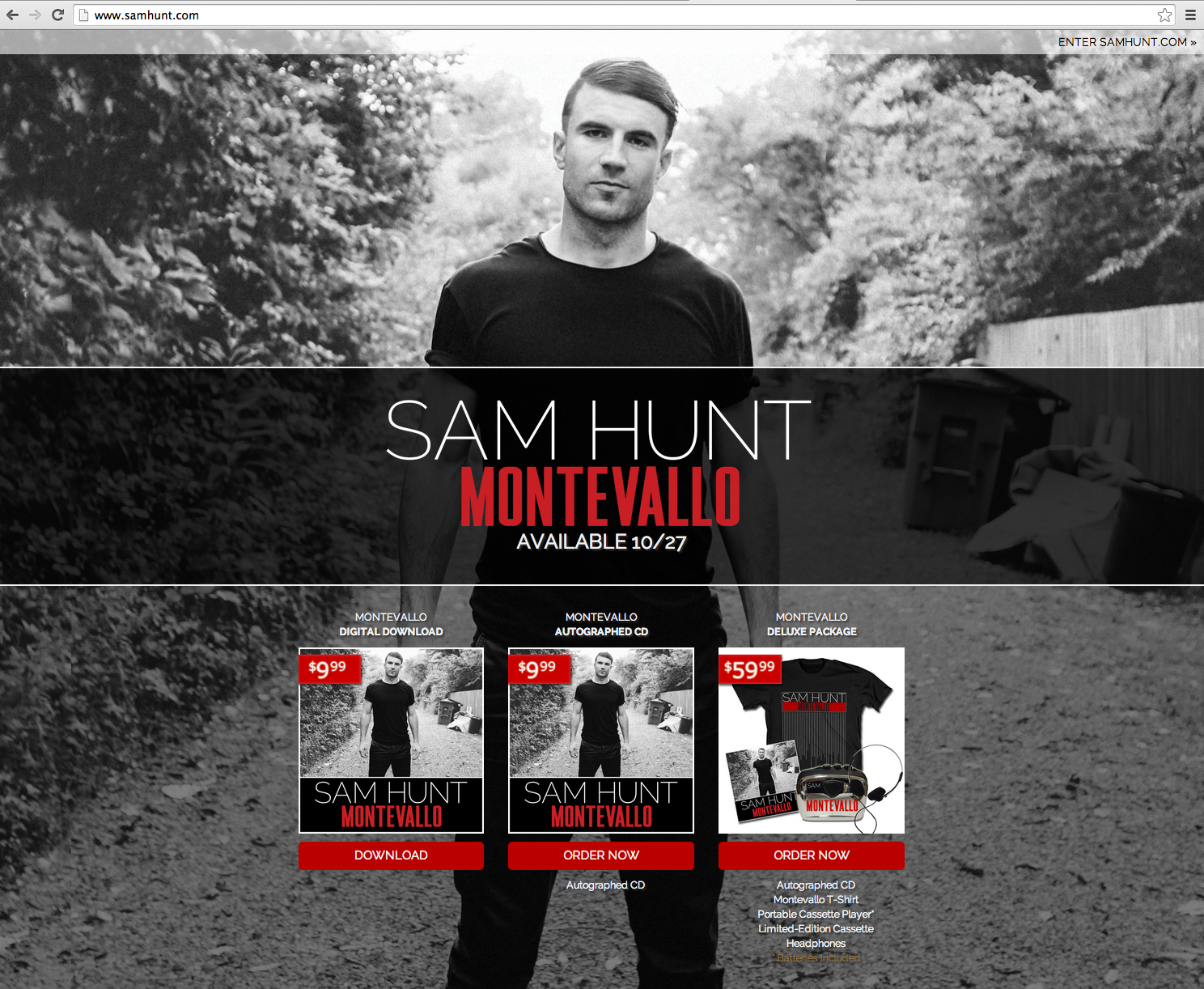 Brady Mills Website Design