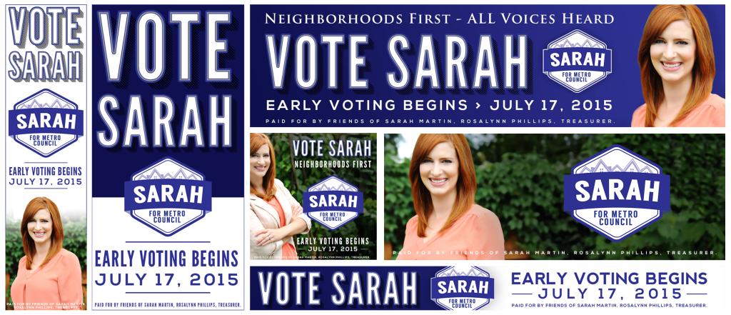 Political Campaign Ad Design