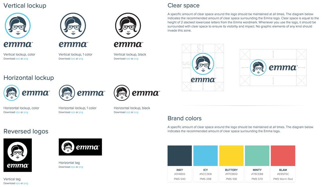 Emma Branding Guide