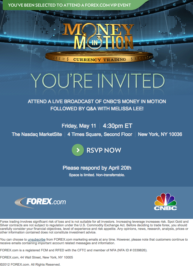 CNBC HTML Email Design