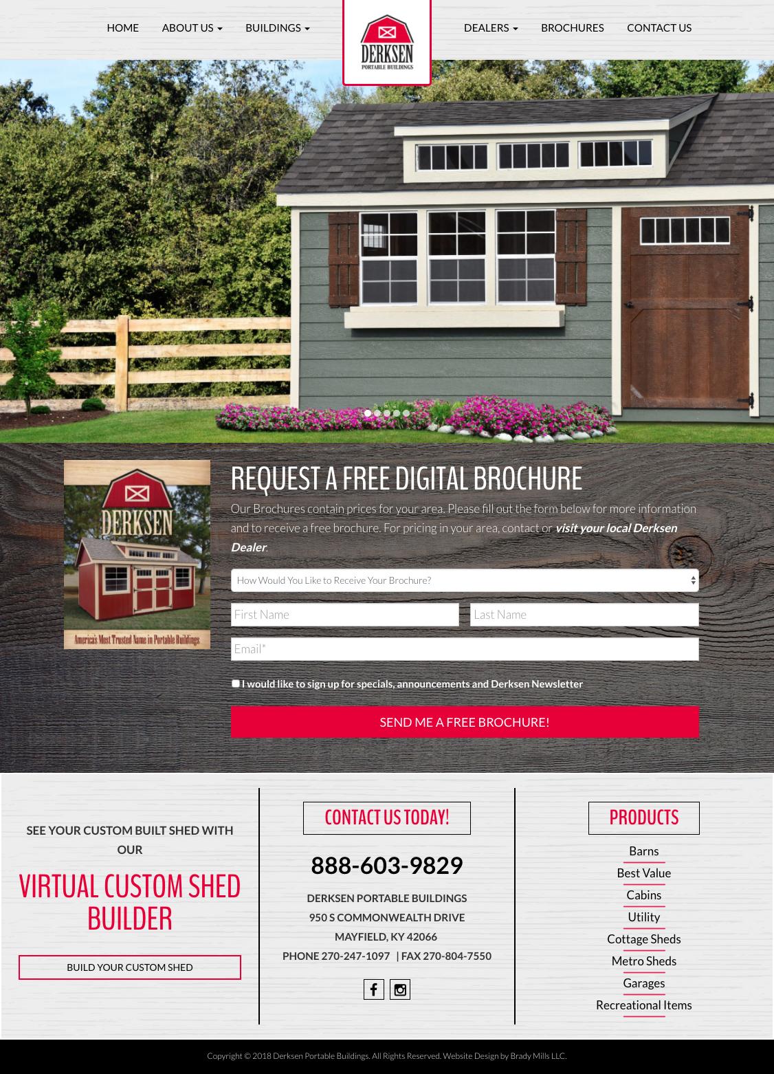 Building Manufacturer Website