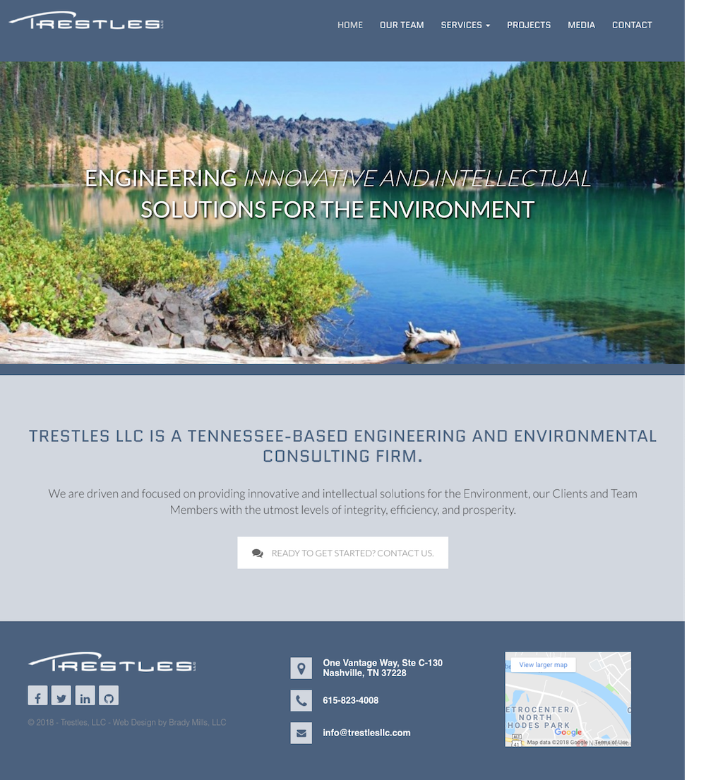 Civil Engineering and Construction Website Design