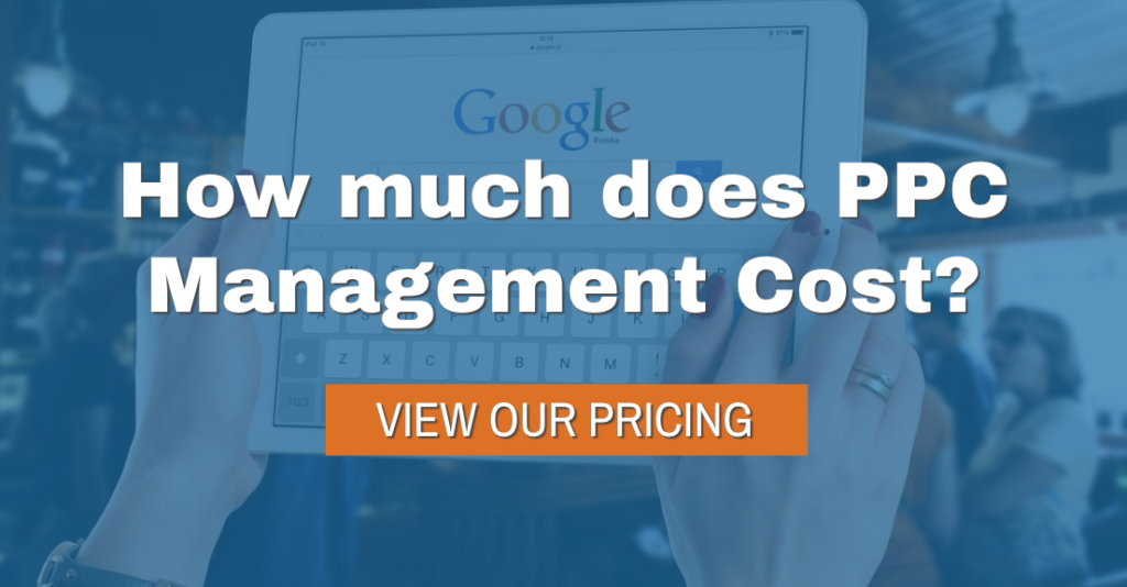 Pay Per Click Pricing