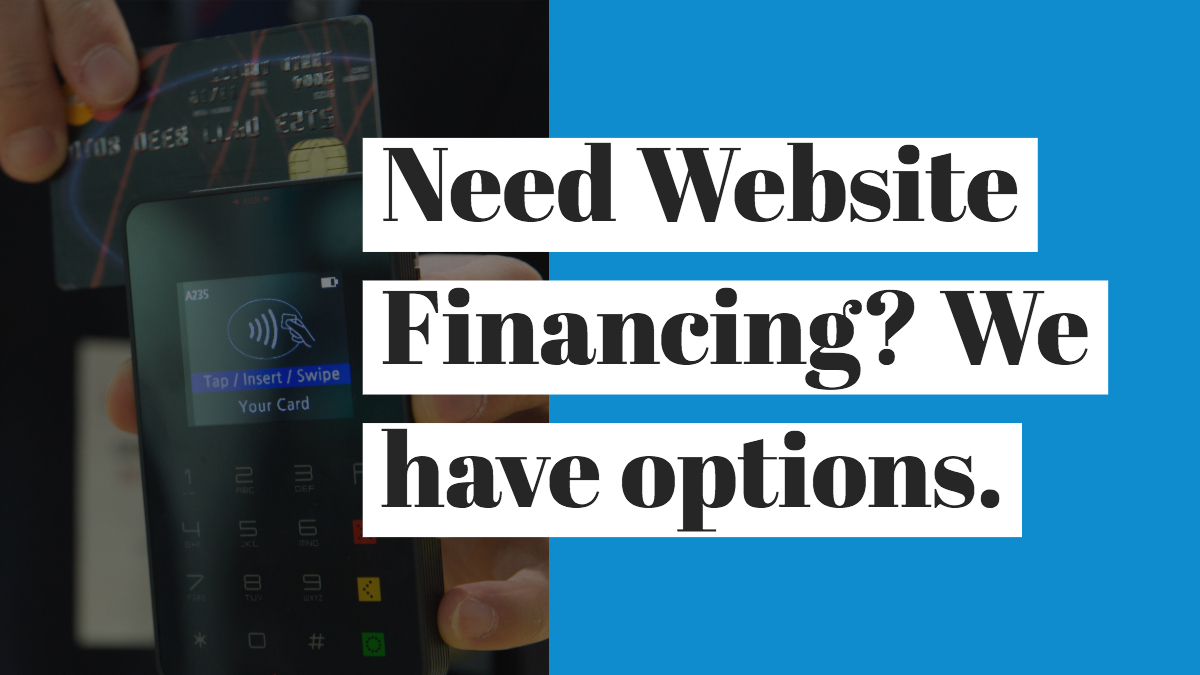 Website Financing Available at Brady Mills LLC