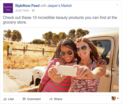 Branded Content Example