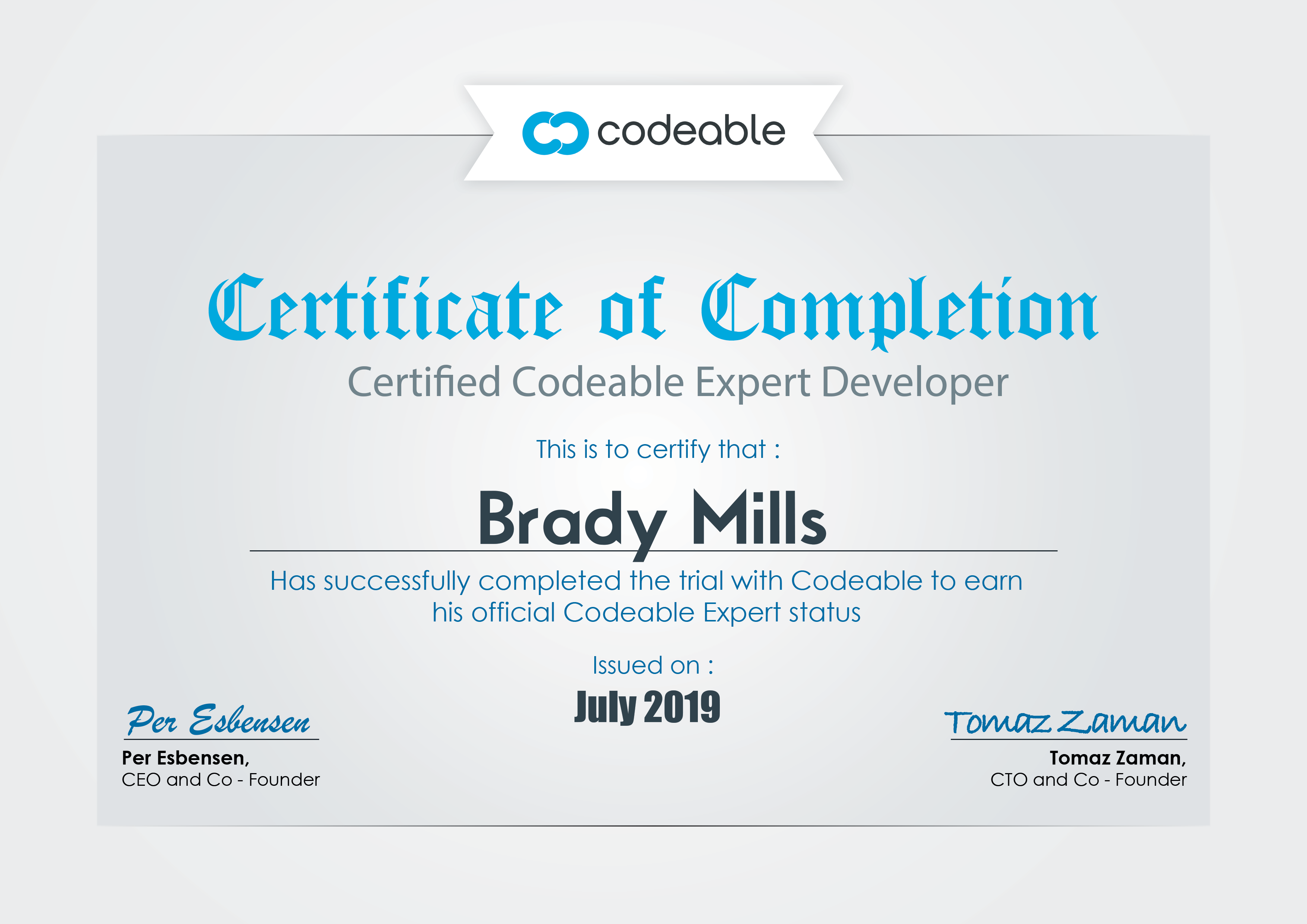 Codeable Certified Expert